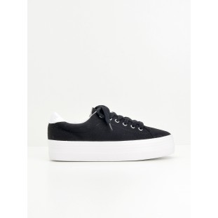 Plato Sneaker - Canvas - Black Fox White