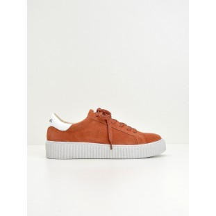 Picadilly Sneaker - Suede - Litchi