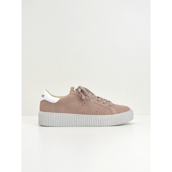 NO NAME Picadilly Sneaker - Suede - Dragee