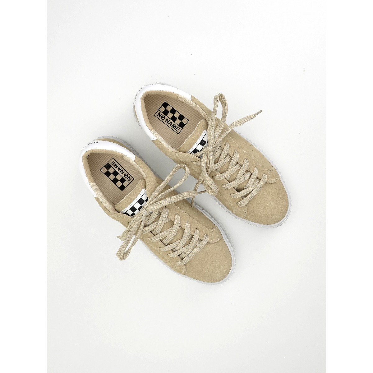 No Name Picadilly Sneaker - Suede - Sable