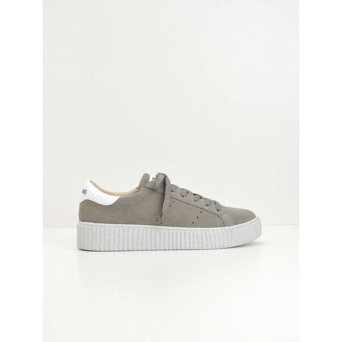 No Name Picadilly Sneaker - Suede - Perle