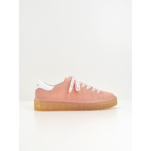 Picadilly Soft - Flex/Patent - Corail/White