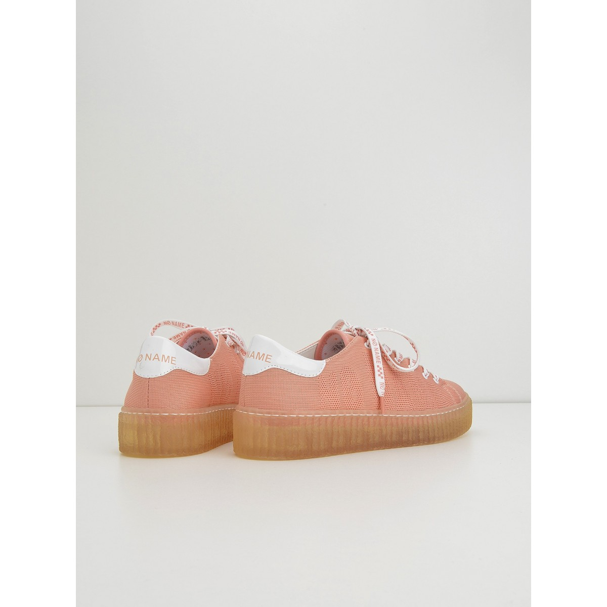 No Name Picadilly Soft - Flex/Patent - Corail/White