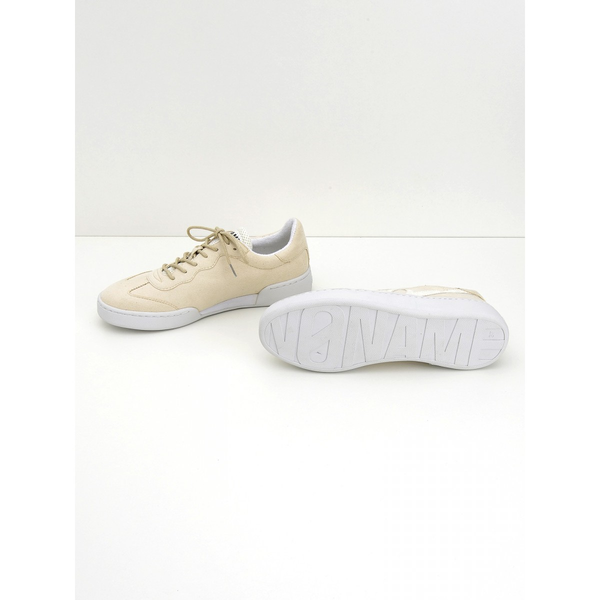 No Name Game Sneaker - Split - White
